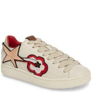New Coach Shooting Star Patch Sneakers
